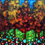 Vibrant Forest - Alcohol Inks