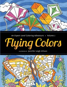 Flying Colors Coloring Book